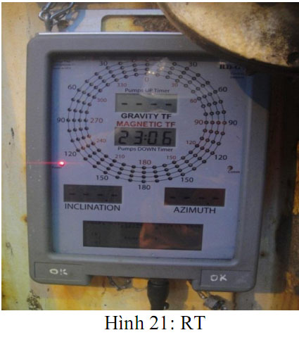 Giới thiệu hệ thống MWD đang sử dụng tại liên doanh Viet Nga Vietsovpetro Mwd18